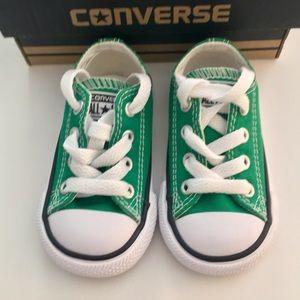 b8ec9d30008 Converse Shoes - NWOT Converse Infant Toddler Size 4 Amazon Green